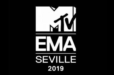 Logo de la gala de este año// Fuente: Twitter @mtvema
