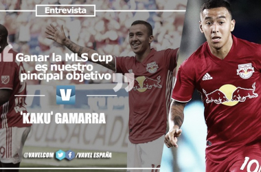 """Entrevista. 'Kaku' Gamarra: """"Ganar la MLS Cup es nuestro principal objetivo"""""""