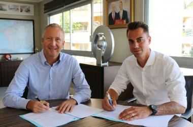 Benaglio, right, withVadim Vasilyev. | Photo: AS Monaco.