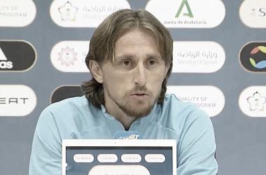 Rueda de prensa Luka Modric | Foto: Real Madrid
