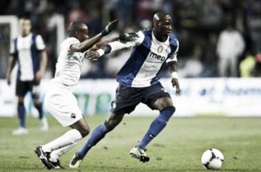 Lance dum jogo entre Académica e FC Porto. Foto: Sportinveste Multimédia