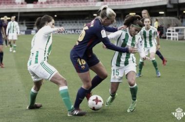 El Betis Féminas es arrollado por FC Barcelona