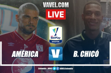 Resumen del partido entre América de Cali y Boyacá Chicó (1-0)