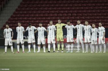Fecha 3- Argentina 1- Paraguay 0- Copa América