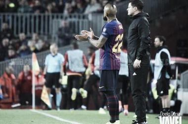 UEFA Champions League, 4-1 FC Barcelona - O. Lyon   Foto: Noelia Déniz VAVEL