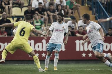 El Real Zaragoza logra un meritorio empate a uno ante el Villarreal