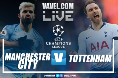 Resumen del Manchester City 4-3 Tottenham por la UEFA Champions League 2018-2019