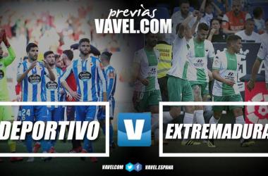 Previa Deportivo de la Coruña - Extremadura: duelo de necesitados // Fotomontajes VAVEL