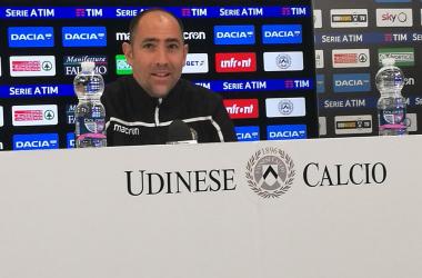 """Udinese - Tudor: """"Guai a pensare di aver fatto qualcosa, Hallfredsson utile nel finale di stagione"""""""