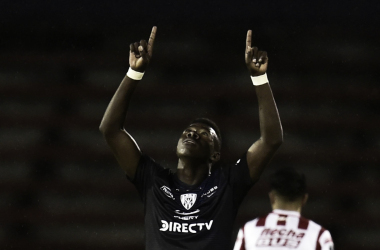 No pudieron definir la serie de penales y quedaron eliminados. Foto: Conmebol Sudamericana.