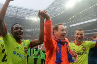 Le CSKA champion de Russie