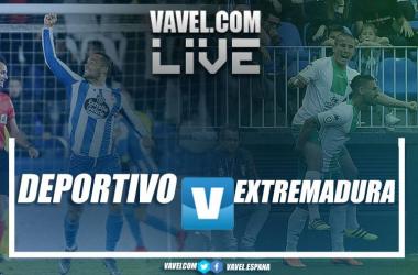 """<p class=""""MsoNormal"""">Deportivo de la Coruña vs Extremadura en vivo y en directo online en LaLiga 1 2 3 2018-19</p>"""