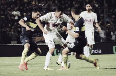 Con un equipo alternativo, Boca igualó en Jujuy. Foto: Infobae.