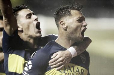 Jugadores de Boca Juniors celebrando un gol / Fuente: Boca Juniors