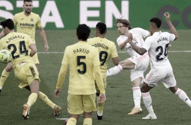 Gol de Modric en el 90´ en la Jornada 38. | Foto: El Español