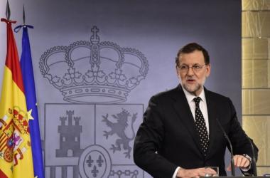 Momento en que Mariano Rajoy comunica que renuncia a la investidura. Foto: El Español