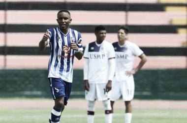 Jonathan Palacios marcó el primer gol del Torneo de Verano / Foto: Depor