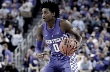 De'Aaron Fox has a lot to prove, as he has crazy athleticism but needs to improve on his fundamentals. Photo Credit: John Locher/AP Photo.