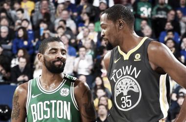 Nova era: Kevin Durant e Kyrie Irving irão jogar juntos no Brooklyn Nets