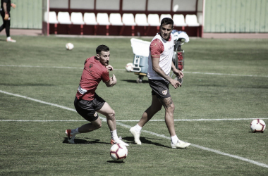 Tito durante un entrenamiento | Fotografía: Ricardo Grande (VAVEL)