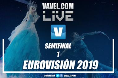Cobertura en directo de la primera semifinal de Eurovisión 2019. Fotomontaje: Javier Jábega