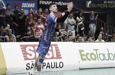 Campeão da Superliga, ponteiro Facundo Conte é anunciado pelo Sada Cruzeiro