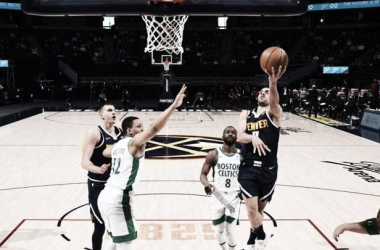 Campazzo hizo 14pts pero no alcanzo para derrotar a Boston. Foto: NBAar.com