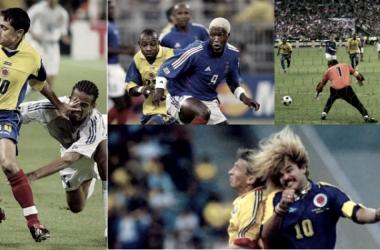 Enfrentamientos anteriores entre Francia y Colombia | Fuente:ETCE