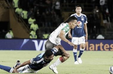 Empate intenso en Bogotá con protagonismo de ambos clubes. Foto: El Tiempo