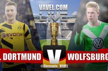 Resultdo Borussia Dortmund - Wolfsburgo en Final Copa de Alemania DFB-Pokal 2015 (1-3)