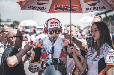 Jorge Lorenzo piloto del Repsol Honda./ Foto: HRC.