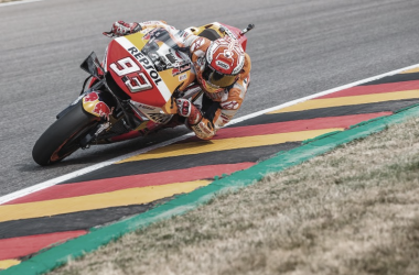 Márquez, notable alto y matrícula de honor en Alemania