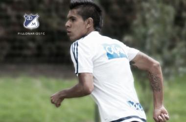 Sergio Villarreal, convocado a la sub-20. Foto: millonarios.com.co