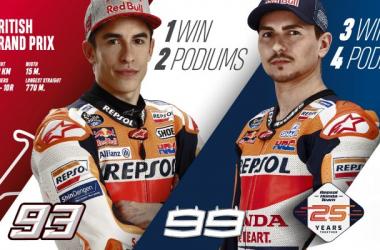 El equipo Repsol Honda está listo para la duodécima ronda del campeonato