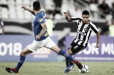 Mesmo com muitas chances de gols, Botafogo fica no empate com Cruzeiro no Nilton Santos