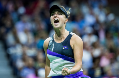 Elina Svitolina was on fire today | Photo: Chazz Niell/Getty Images via Zimbio