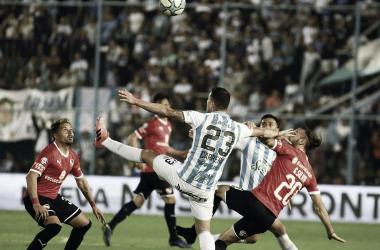 Independiente ganó un partido que pesaba mucho en lo emocional (Foto:Télam)