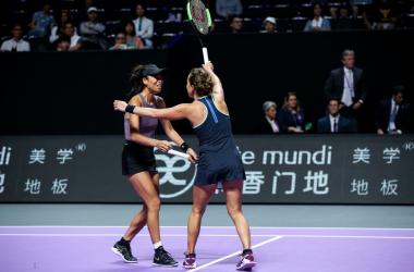 WTA Finals: Hsieh Su-wei and Barbora Strycova survives huge challenge