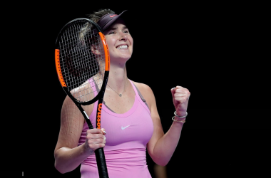 Elina Svitolina will be delighted with how she fought today | Photo: Lintao Zhang