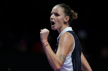 Karolina Pliskova was sharp and efficient today | Photo: Lintao Zhang