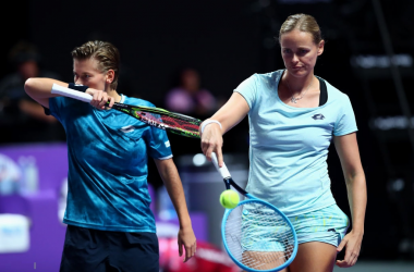 Schuurs and Groenefeld will face second seeds Hsieh and Strycova in the semifinals | Photo: Clive Brunskill