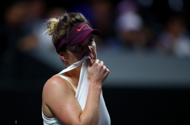 WTA Finals: Svitolina overcomes ailing Bencic to reach the final
