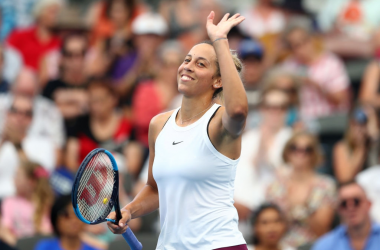 Eighth seed Madison Keys is looking to make her first ever final on Australian soil when she takes on former champion Petra Kvitova in the semifinals of Brisbane. Photo: Chris Hyde/Getty Images.
