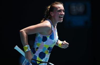 2020 Australian Open: Brilliant Kvitova survives three-setter against Sakkari