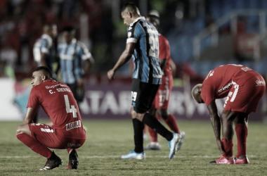 América cayó ante Gremio en el inicio de la Copa Libertadores