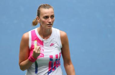 US Open: Petra Kvitova claws past Kateryna Kozlova to secure third round berth