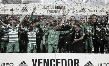 Sporting conquista a taça de honra diante o rival Benfica (record.xl.pt)