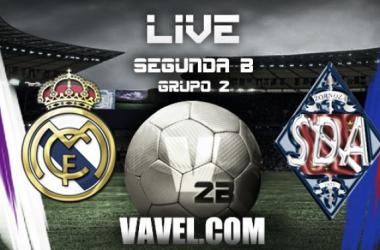 Resultado Real Madrid Castilla vs Amorebieta en Segunda División B (3-2)