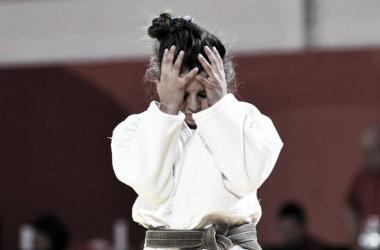 Mikaela Rojas estuvo cerca de subirse al podio en Judo.