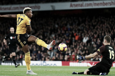 Leno salvó al Arsenal en la última. Foto: Premier League.